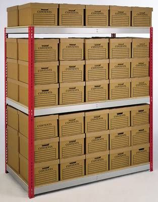 Bankers Box Static Shelving