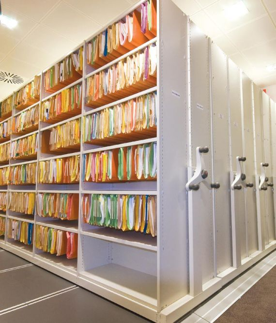 Office Mobile Filing Shelving Systems