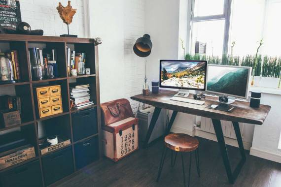 Six-storage-solutions-for-a-small-office-space