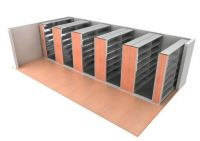 Mechanically Operated Mobile Shelving