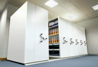 Hand Operated Mobile Shelving