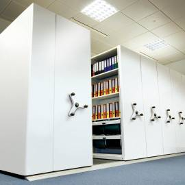 High Density Mobile Shelving / Roller Racking Systems